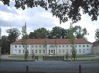 Paretz Village in Brandenburg state Germany