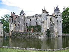 Le château de la Brède (août2004)
