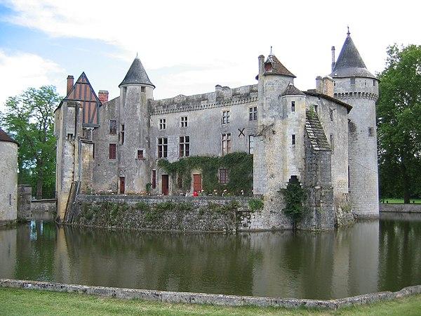 Le château de la Brède (août2004).