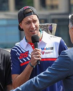 Chaz Mostert Australian racing driver