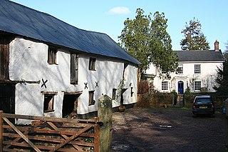 Cheriton Fitzpaine village in United Kingdom