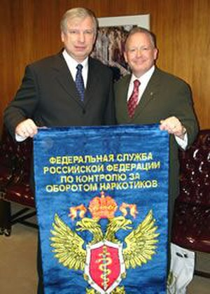Federal Drug Control Service of Russia - Image: Cherkesov