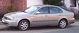 Daewoo Magnus - Chevrolet Evanda