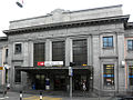 Chiasso - stazione ferroviaria - fabbricato viaggiatori - dettaglio facciata.JPG