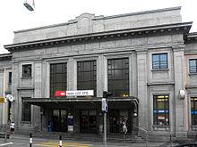 La stazione di Chiasso