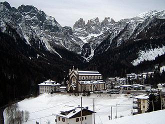 Falcade - Image: Chiesa Falcade