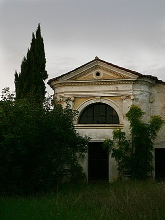 Battle of Bassano - The church of San Giovanni on the outskirts of Bassano, Bonaparte's headquarters during the battle