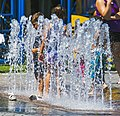 Children standing in fountain on Como lakefront.jpg