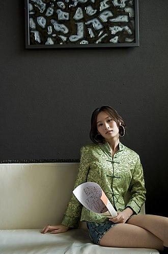 Tangzhuang - A model in a tangzhuang (2009)