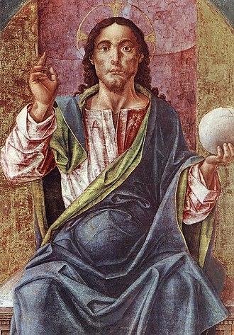 Bartolomeo Vivarini - Image: Christ Enthroned
