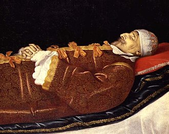1648 in Denmark - King Christian IV painted on his deathbed
