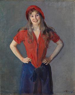 norwegische Malerin