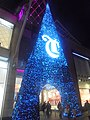 Christmas decorations at the Briggate, Leeds (3rd January 2020).jpg