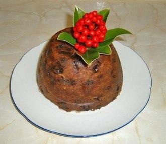 Christmas pudding - Image: Christmas pudding