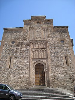 Church of Santiago del Arrabal, Toledo - facade 1.JPG