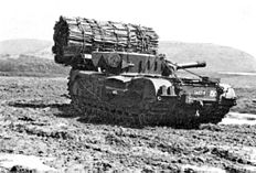 Churchill AVRE with fascine