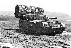 79th Armoured Division (United Kingdom) - Image: Churchill VII AVRE With Fascine