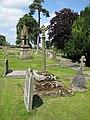Churchyard cross, St Swithins - geograph.org.uk - 869099.jpg