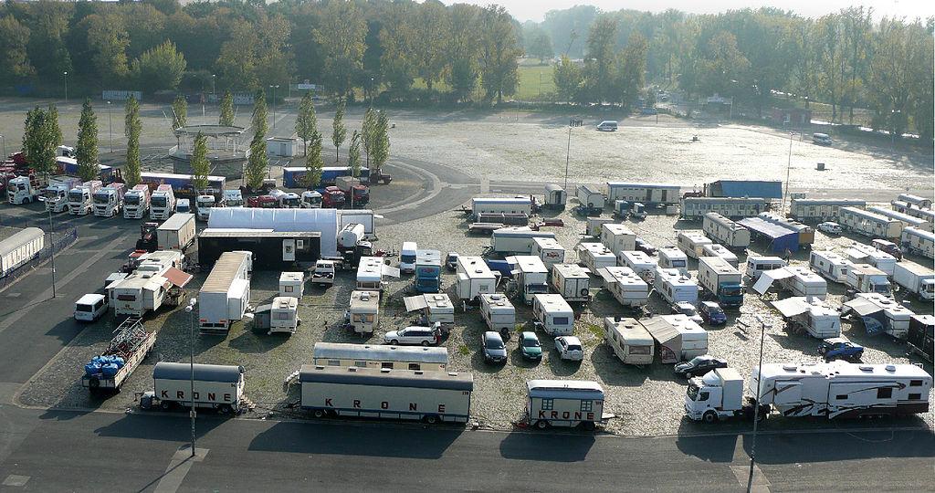 Circus Krone Fuhrpark