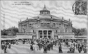 Cirque Amiens foule début XXe
