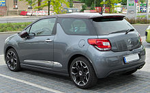 Citroën DS3 THP 150 SportChic rear-1 20100529.jpg