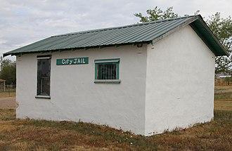 Interior, South Dakota - Interior city jail