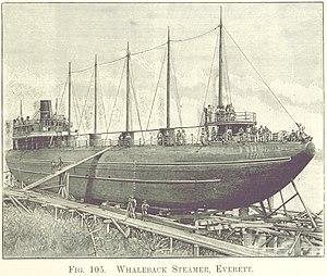SS City of Everett - Image: City of Everett whaleback