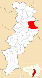 Clayton and Openshaw (ward) Electoral ward in England