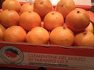 Clementine - Italian cultivar, Clementine del golfo di Taranto