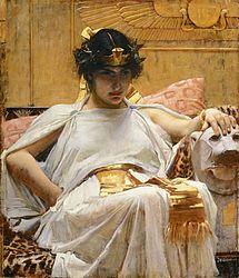 John William Waterhouse: Cleopatra