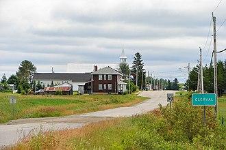 Clerval, Quebec - Image: Clerval QC