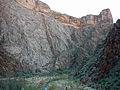 Cliffs along N Kaibab Trail.JPG