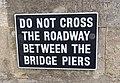 Clifton Suspension Bridge sign.jpg