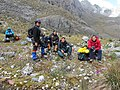Climbers on cruise Mucuy-Mucunutan in El Suero Lagoon.JPG
