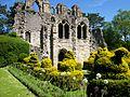 Cloister garden, Wenlock Priory 2.jpg