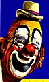 Clown art detail, Dr Hunter Papers - Circus Poster (30954321938) (cropped).jpg
