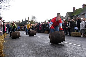 Grantchester - A Grantchester barrel race in 2007