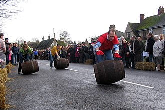 Grantchester - A Grantchester barrel race in 2007