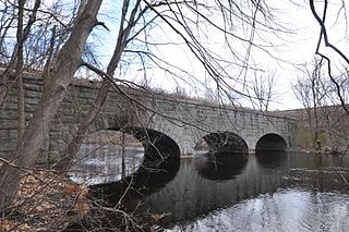 Cochituate Aqueduct Brought water to Boston, MA, USA from 1848 to 1951