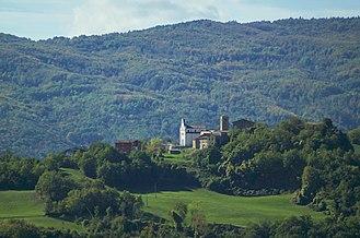 Farini, Emilia-Romagna - partial view of the town of Farini