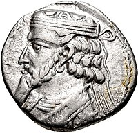 Coin of Artabanus II, Seleucia mint.jpg