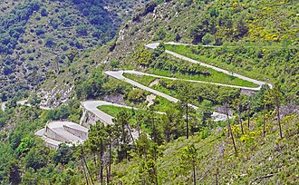 Power stage - Image: Col de Braus Alpes Maritimes