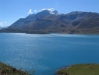 Mont Cenis - Lake at the pass