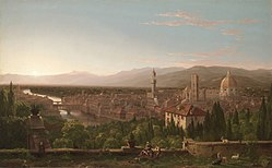 Cole Thomas View of Florence from San Miniato 1837.jpg