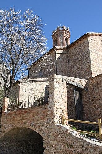 Collbató - Image: Collbató Esglesia Sant Corneli 2011 Xavier Planas Viñas