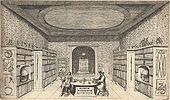 Αίθουσα συλλογών του Γιακόμπ ντε Βιλντ