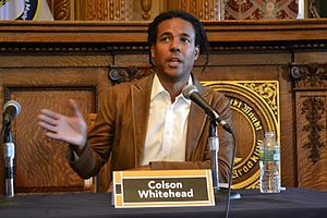Colson Whitehead - Whitehead at the 2011 Brooklyn Book Festival