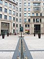 Columbus Courtyard in March 2011 - view west to Centurione I by Igor Mitroraj showing Planters by Titania Orloff 01.jpg