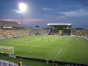 Columbus Crew v. Chicago Fire June 2013 13 (Columbus Crew Stadium).jpg