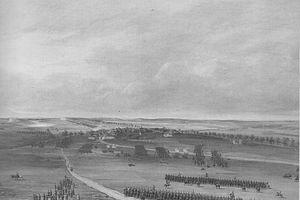 Battle of Champaubert - Image: Combat de Champaubert, 10 février 1814, dans la soirée